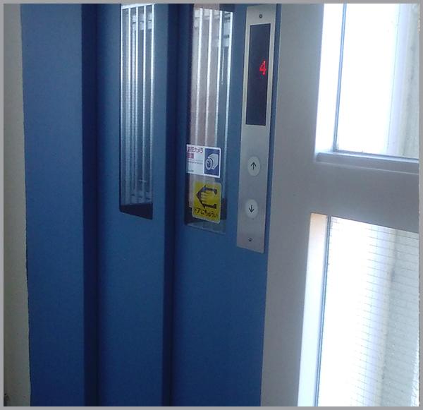 集合住宅ではエレベーターの基数を確認