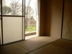 戸田市公団の遺品整理の部屋