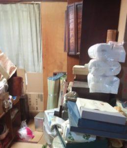 清瀬市の父親部屋の遺品整理