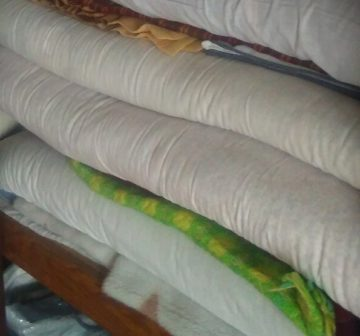 和光市の空き家遺品整理、部屋にあった布団